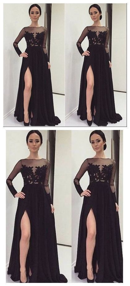 382cb6665d Black Prom Dresses