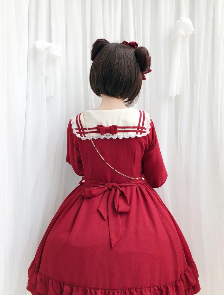 fa32e03e912ec Free shipping Japanese Lolita cute sweet princess dress from harajuka&kawaii