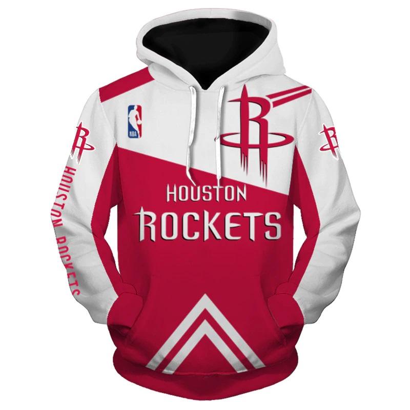 8e7af6dc6 Houston Rockets Hoodie NBA Basketball Sweatshirts New Season - Thumbnail 1  ...