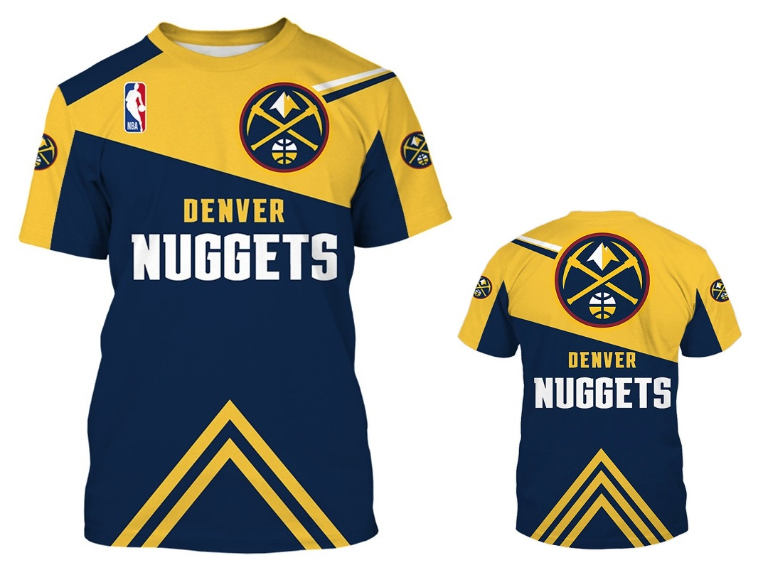 sneakers for cheap c239d 63743 Denver Nuggets NBA Basketball Shirt New Season from SportsMegas