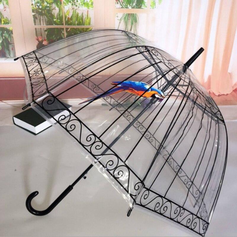 7a9d1572394b Building Semi Bird Kids Apollo Umbrellas City Long Transparent Cage  Umbrellas Handle Umbrella Cartoon Umbrella Automatic