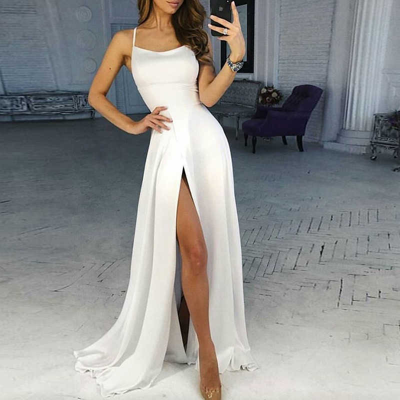 Silk Formal Gown Dresses
