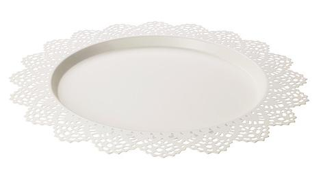 Super 10 Lace Charger Plates White Chargers metal · Embellish · Online  OZ38