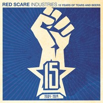 "Various Artists ""Red Scare Industries: 15 Years of Tears and Beers"" LP CCCP 222-1 medium photo"