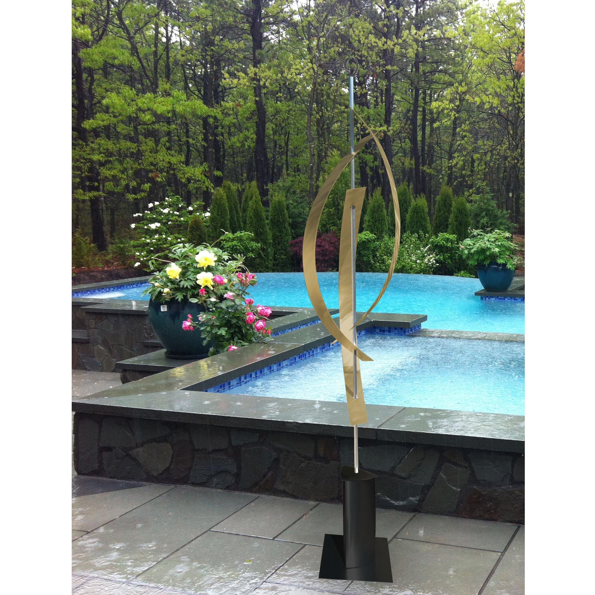 Orion Copper Large Metal Sculpture Garden Art Poolside