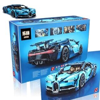 Lepin 20086 Bugatti Chiron BLUE Dream Car 4031 Pcs (42083) Building Block  Set *FREE Shipping* from ChiwitSabai