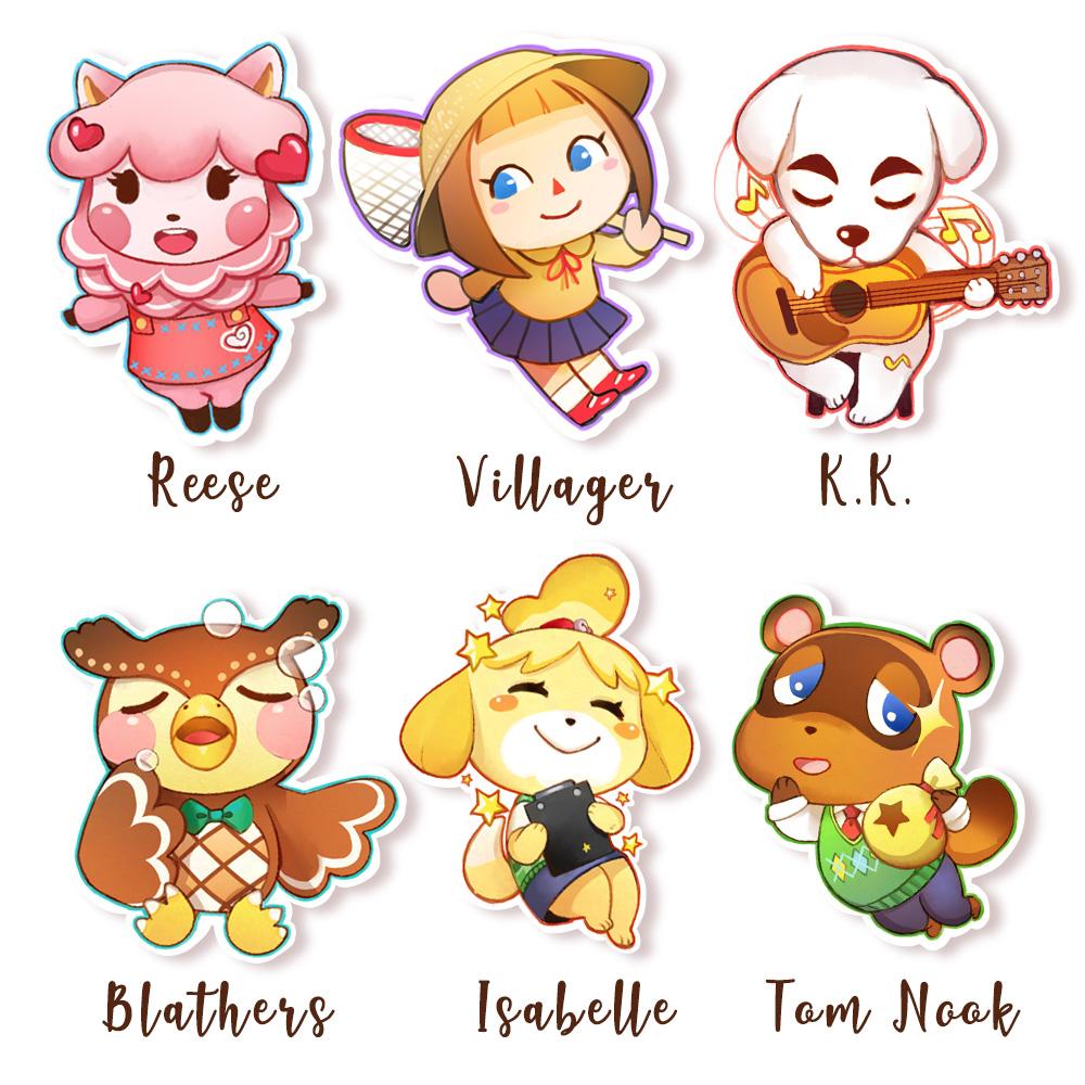 Animal Crossing Sticker