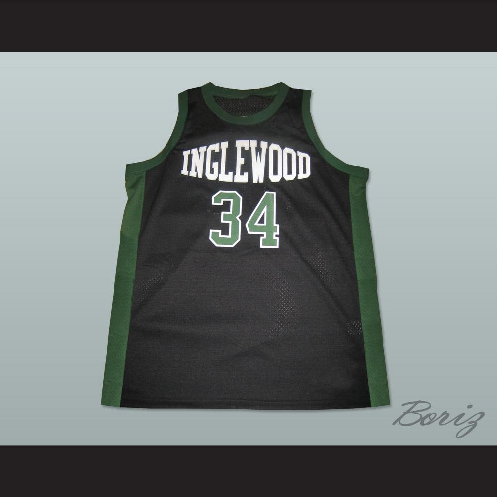 0eacecf21 Paul Pierce 34 Inglewood High School Basketball Jersey NEW Stitch Sewn -  Thumbnail 1 ...