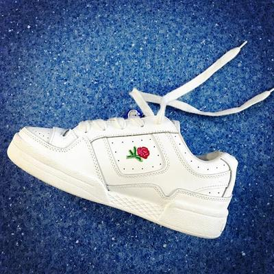 Rose white sneakers g-3003