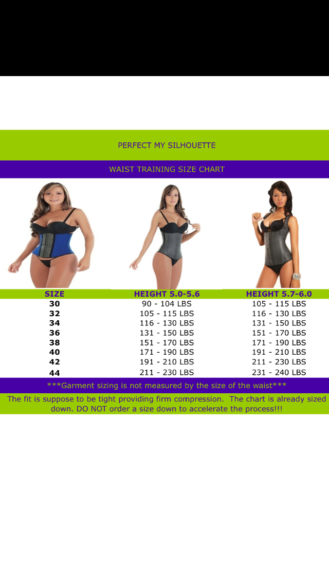 b91345a5b Latex and PMS Waist Cincher Combo · Perfect My Silhouette · Online ...