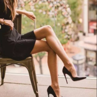 2020 New Black Pointy Stiletto Heel Women Hot Sales - Thumbnail 1