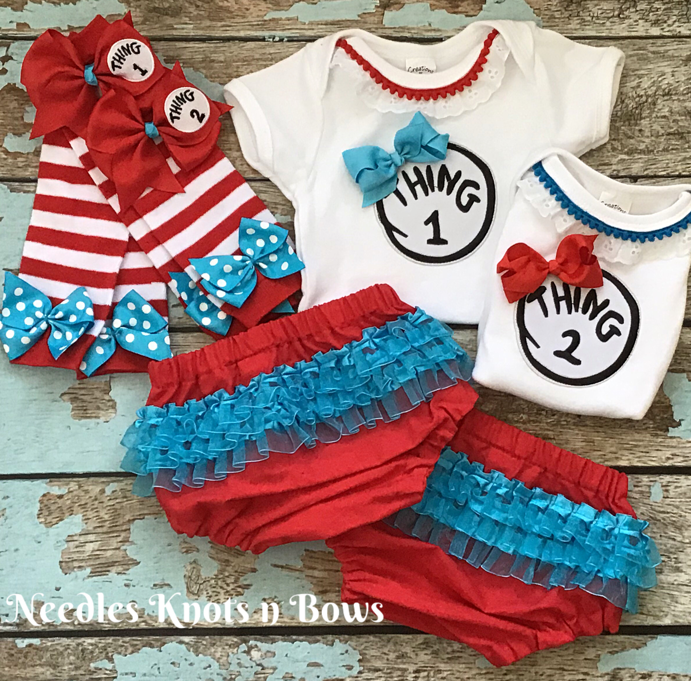 Miraculous Twin Girls Cake Smash Outfits Girls Thing 1 Thing 2 Outfits Funny Birthday Cards Online Necthendildamsfinfo