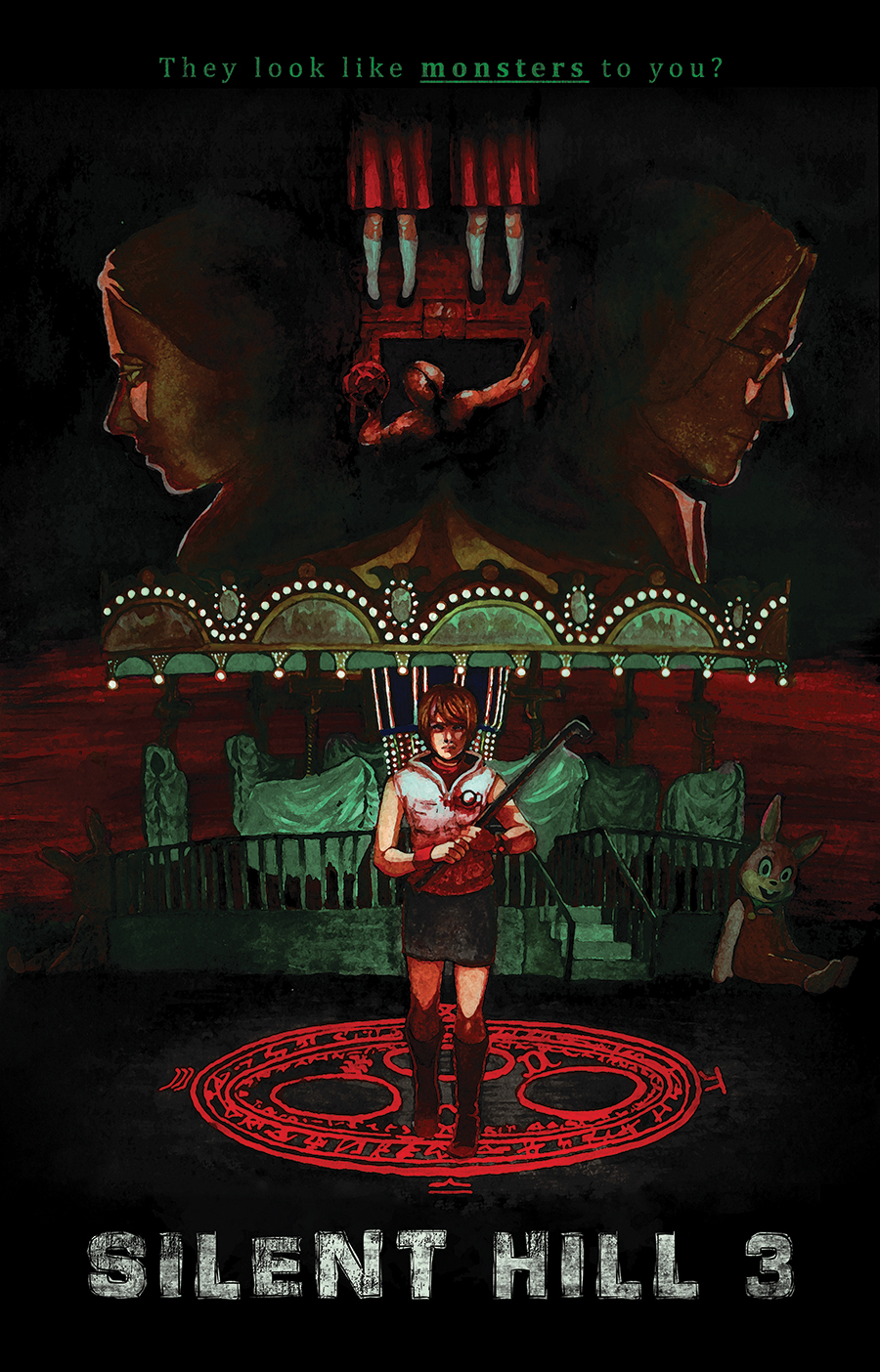 Silent Hill 3 Poster Print 11x17 Art Of Michelle Stanford Online Store Powered By Storenvy