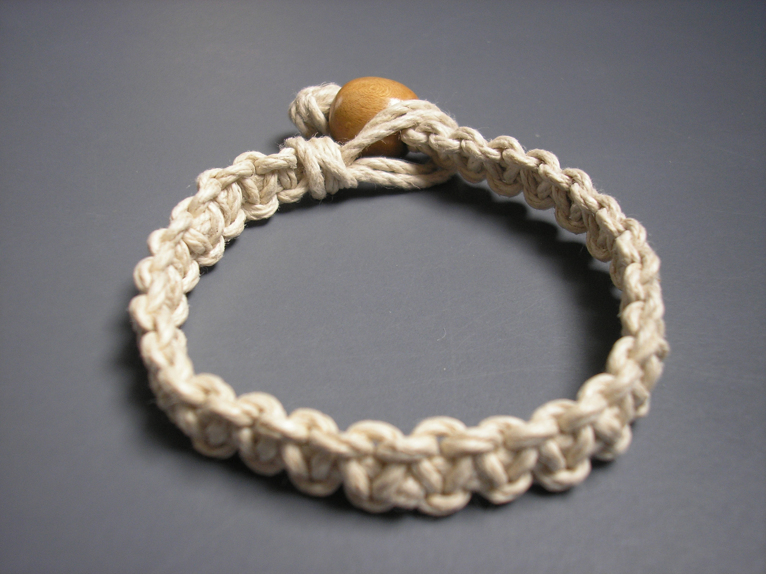 3 Natural Hemp Bracelets and or Anklets on Storenvy