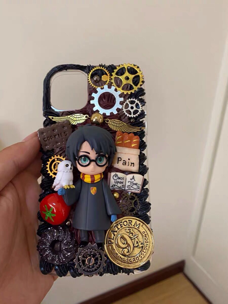 Diy Handmade Harrypotter Phone Case Decoden For Iphone Samsung Sony Lg Moto And Others Sold By Oh My Kawaii On Storenvy