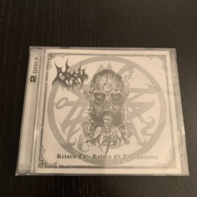 "Absu / azathoth- ""return to...return of the ancients dark symphonies""  double cd"