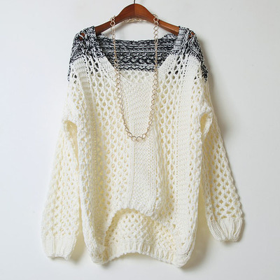 1d299c347850 Loose fit v-neck sweater
