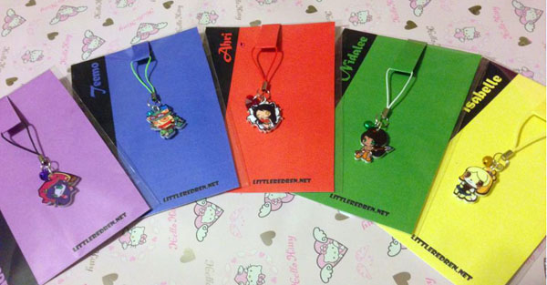 League of Legends - Charms sold by Little Red Ren