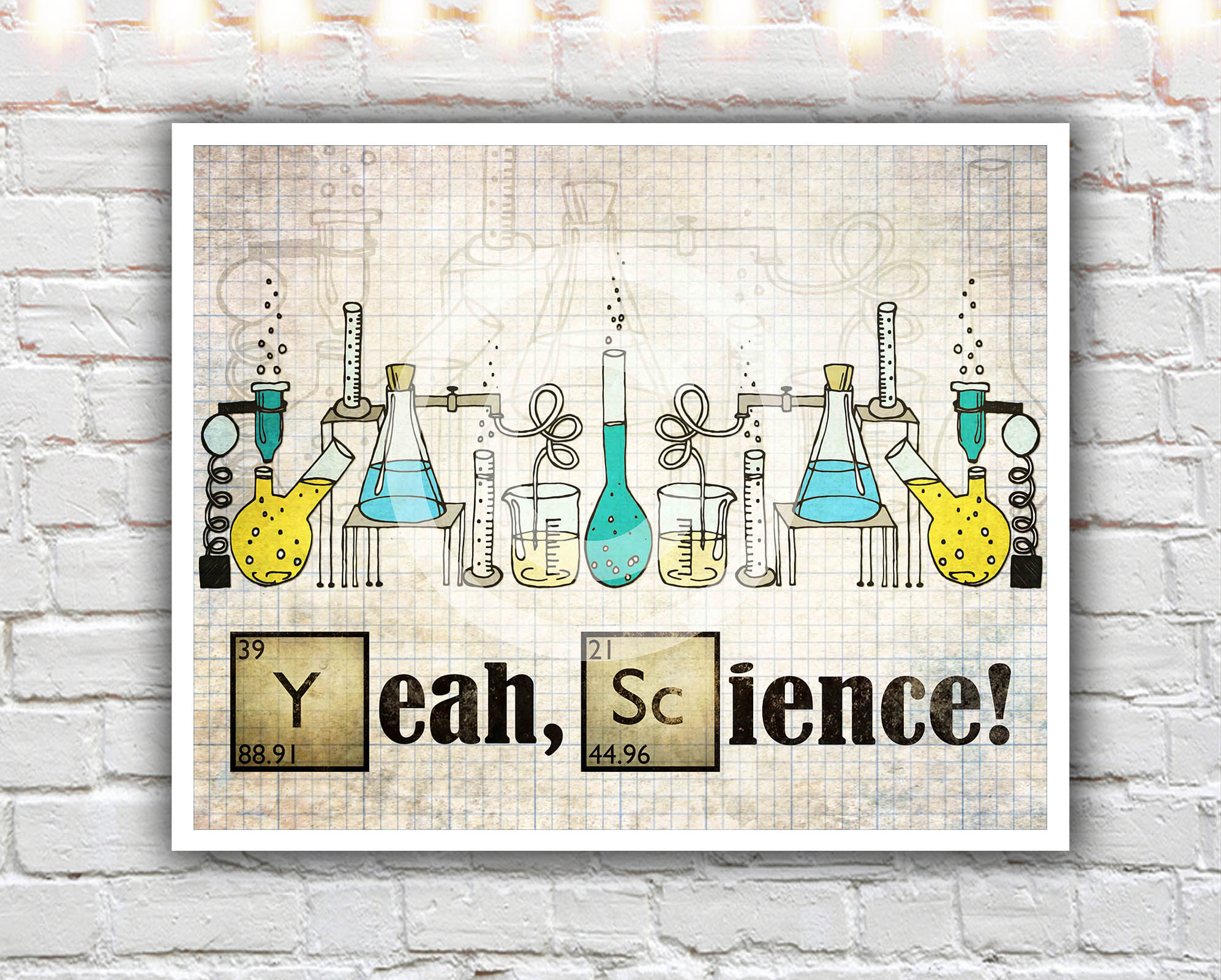Yeah Science 16 X 20 Paper Print Breaking Bad Poster Breaking
